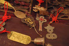 Old Chinese Feng Shui pendants