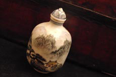 Chinese Porcelain snuff bottle hand painted from China