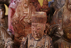 Old Chinese Statues