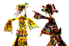Chinese Puppets Shadow play