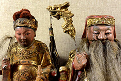 Old reproductions of Chinese votive statues