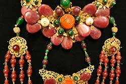 Ancient Chinese Theater Jewelry - Semi Precious Stones