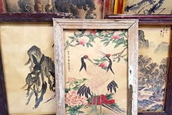 Old Chinese wooden frame - Chinese painting