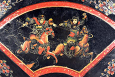 Chinese wood panels Painting