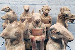 Terracotta Statues - Zodiac Sign - Terracotta